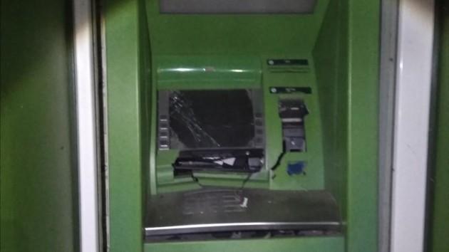 В Харьковской области взорвали банкомат: появилось видео