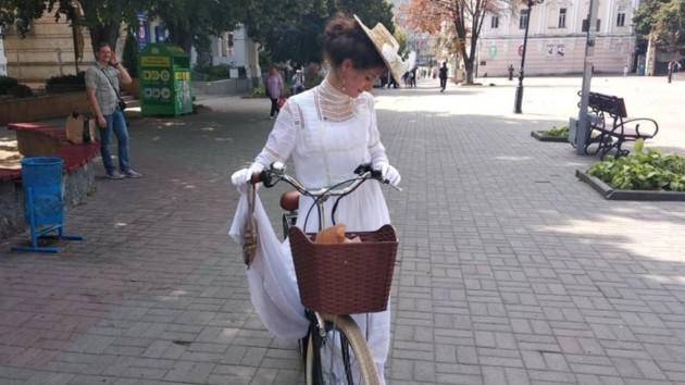 """Украинскую Мэри Поппинс"" сняли на видео в Виннице"