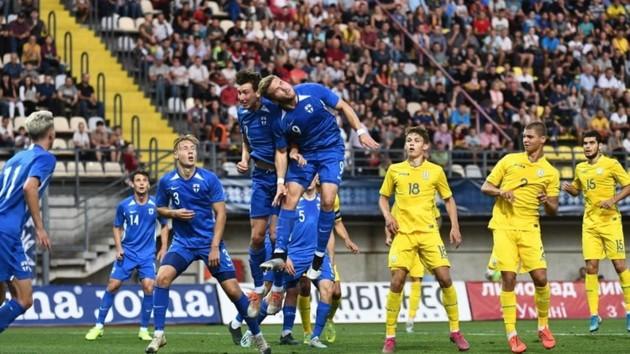 Неудачный дебют Ротаня: украинская молодежка уступила Финляндии в квалификации Евро-2021