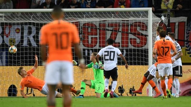 Германия - Голландия: видео голов и обзор отборочного матча Евро-2020