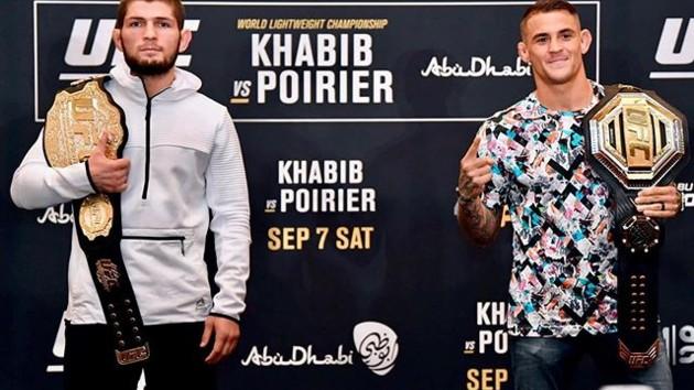 Хабиб задушил Порье: онлайн грандиозной драки за титул