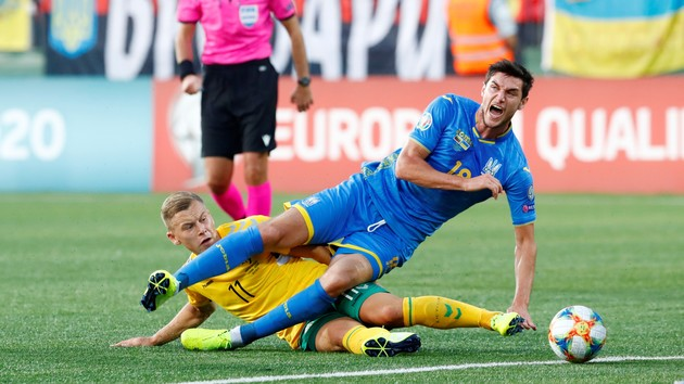 Литва - Украина, Сербия - Португалия и другие матчи субботы в отборе на Евро-2020: все результаты