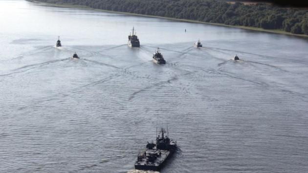Украина и Румынии провели совместные военные учения на Дунае: видео