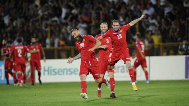 Мхитарян стреляет дуплетом: обзор матча Армения - Босния в отборе на Евро-2020