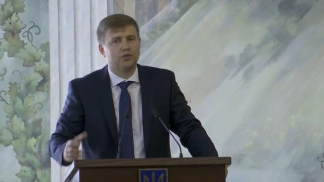 Зеленский представил нового главу Ровенской области (видео)