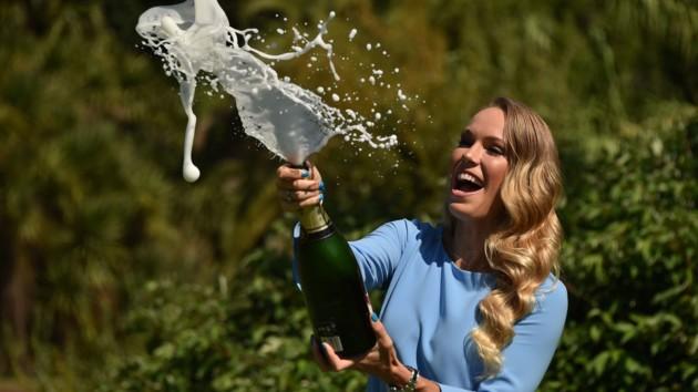 С корта за парту: звезда тенниса Каролин Возняцки пошла в школу