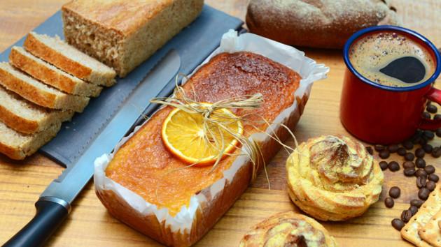 Как испечь тыквенный кекс с апельсинами и орехами
