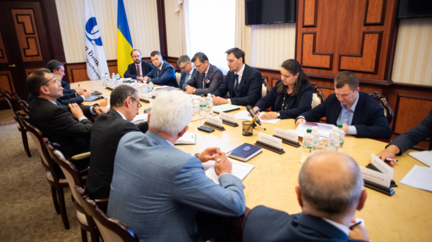 Гончарук ждет от ЕБРР рекордных вливаний в экономику Украины