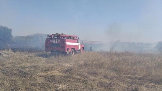 В Харьковской области горят торфяники