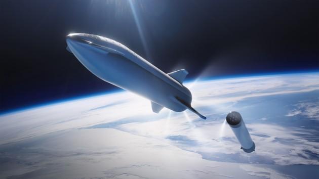 SpaceX анонсирует запуск марсианского звездолета Starship