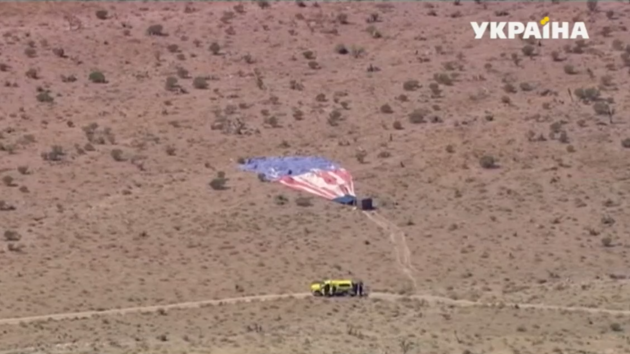 В США возле Лас-Вегаса потерпел крушение воздушный шар с пассажирами