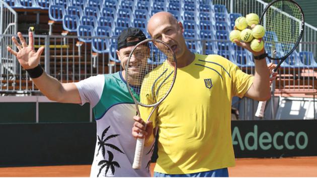 Тризуб наготове: сегодня сборная Украины по теннису сразится с Венгрией