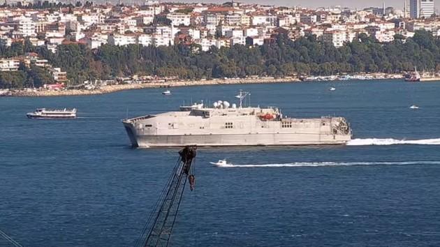 В Черное море вошло скоростное судно США: россияне уже «на ушах» (видео)