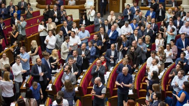 """""""Слуги народу"""". Фото: facebook.com/sluganarodu.official"""