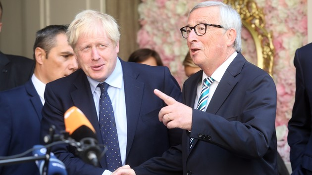 Судьба Brexit: в Брюсселе сделали заявление по итогам встречи Юнкера и Джонсона