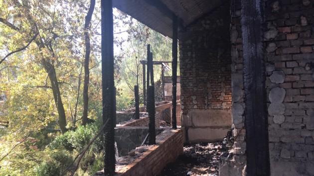 Опубликованы фото дома Гонтаревой после пожара