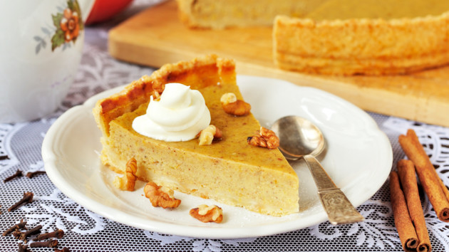Как испечь американский тыквенный пирог