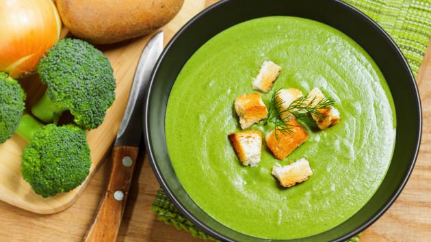 Как сварить вкусный крем-суп из брокколи