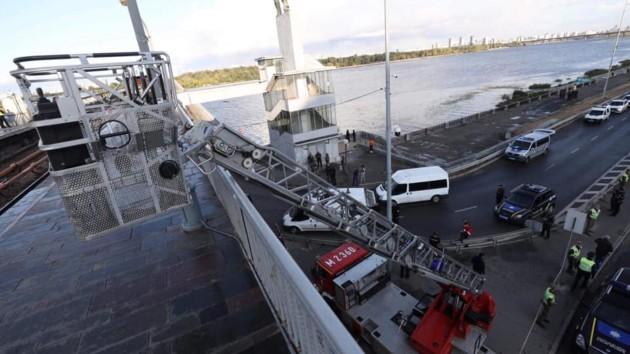 Угроза теракта на мосту Метро в Киеве: онлайн-трансляция и подробности