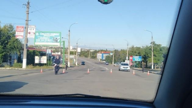 В оккупированном Луганске прогремел мощный взрыв