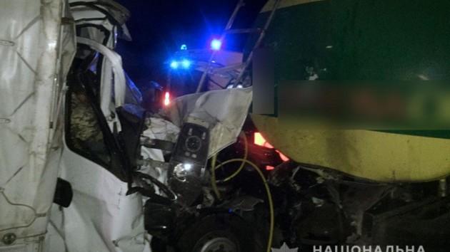 В Полтавской области столкнулись два грузовика: есть погибший и пострадавшие