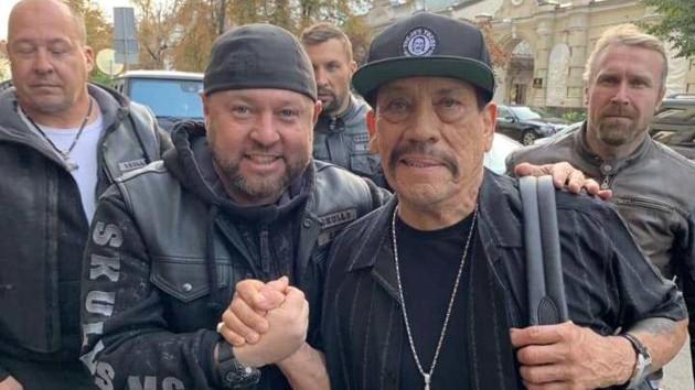 """""""Мои новые друзья"""": Дэнни Трехо опубликовал фото из Киева и посетил Comic Con 2019"""