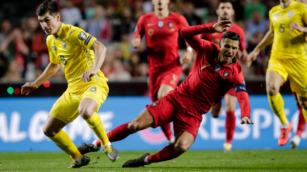 Не забивал только Украине: смотрите все голы Криштиану Роналду в отборе Евро-2020