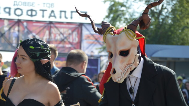 """Комиксы, аниме и """"Звездные войны"""": как проходит Comic Con Ukraine 2019 в Киеве"""