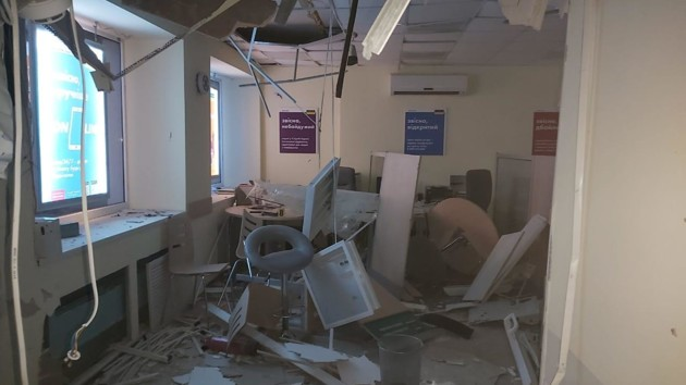 В Харькове ночью взорвали банкомат: появились фото и видео