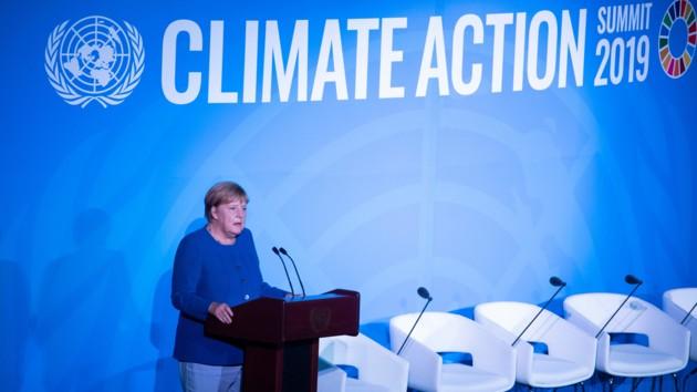 Меркель рассказала, кто должен отвечать за климат