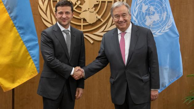 Финансовая помощь и разработка вакцины от коронавируса: Зеленский пообщался с генсеком ООН