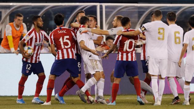 """Симеоне дают больше шансов на победу, чем Зидану: прогноз на матч """"Атлетико"""" - """"Реал"""""""