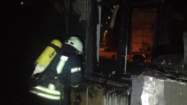 В Киеве подожгли здание детского сада: фото