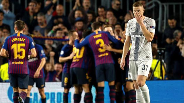 """Барселона"" - ""Интер"": Лаутаро шокировал каталонцев в начале встречи"