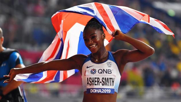 Британка c обложки журнала выиграла 200-метровку на чемпионате мира