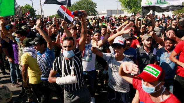Протесты в Ираке: десятки погибших, тысячи раненых
