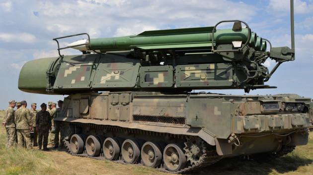 Зенитные ракетные войска ВСУ начали учения с боевой стрельбой: фото