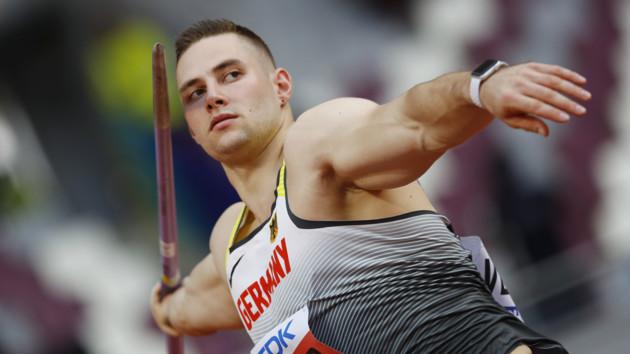 Йоханнес Веттер вышел в финал соревнований по метанию копья, украинец Ничипорчук – последний