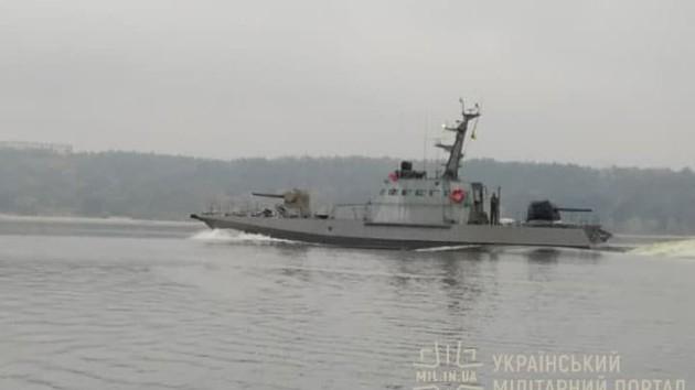 В Одессу прибыл седьмой новый артиллерийский катер: опубликовано видео