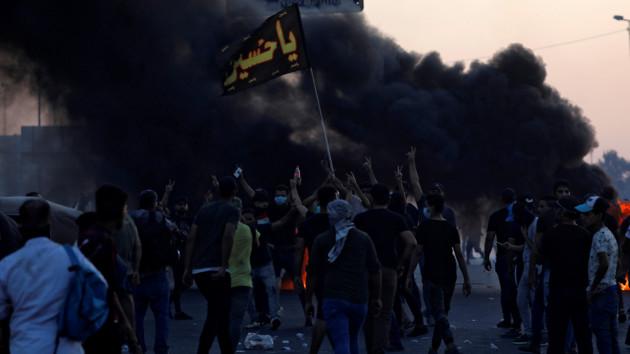 Протесты в Ираке: больше сотни погибших, шесть тысяч пострадавших