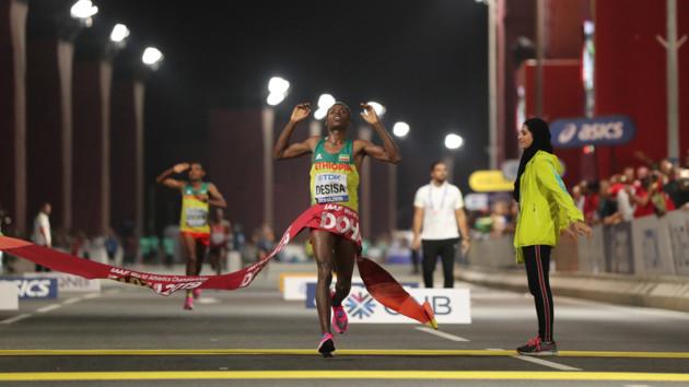 Украинец занял 50-е место в марафоне на чемпионате мира по легкой атлетике