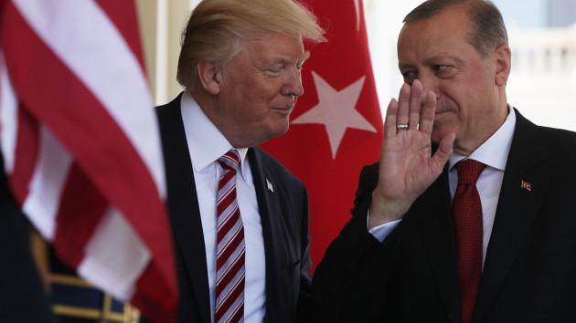 Эрдоган и Трамп обсудили создание в Сирии зоны безопасности