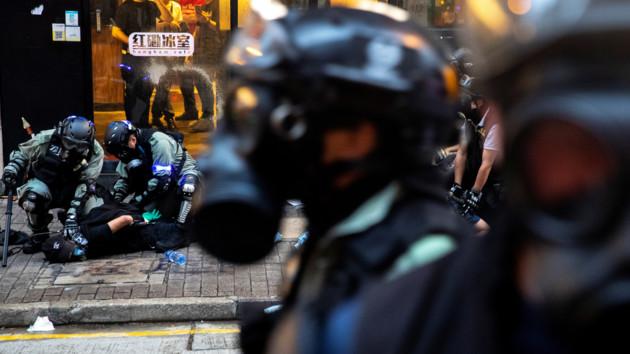 Пентагон обеспокоен протестами в Гонконге