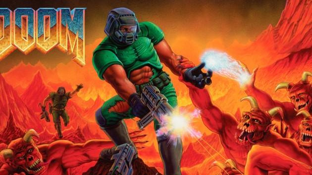 На кассе Макдональдса запустили игру Doom: видео