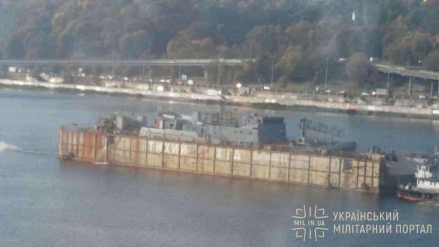 Из Киева в Одессу отправили корабль-разведчик для ВМС Украины
