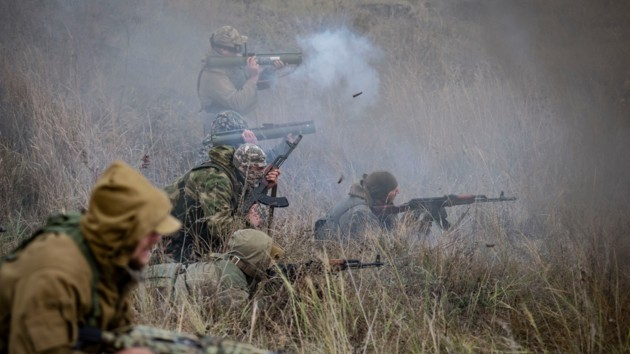 В Донбассе вспыхнули вооружённые конфликты между неонацистами и ВСУ