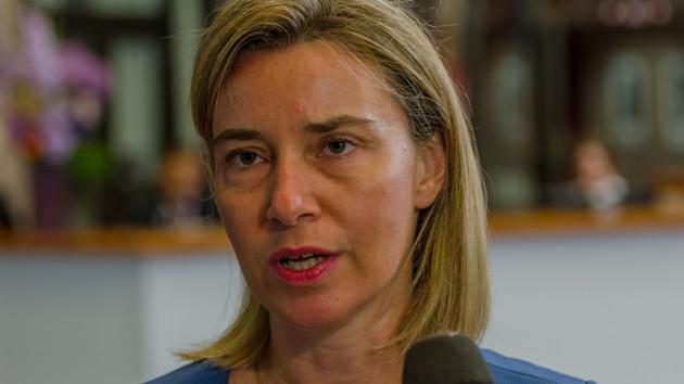 Могерини назвала укрепление Украины одним из приоритетов Евросоюза