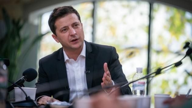 Зеленский прокомментировал стычку добровольцев с полицией на Донбассе
