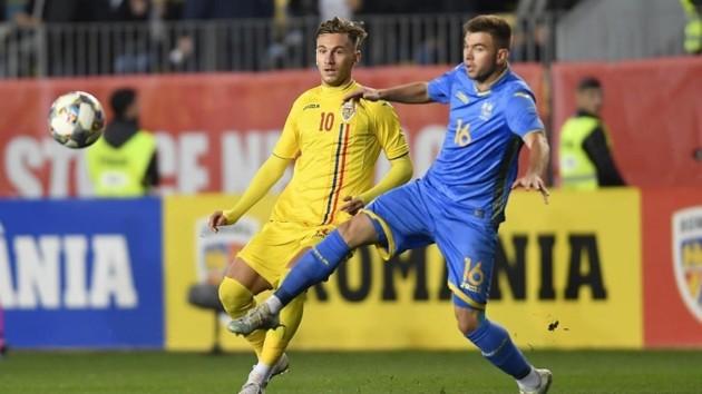 Украина U-21 разгромно уступила Румынии в квалификации Евро-2021