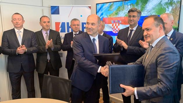 ДТЭК начал сотрудничество с национальной энергетической компанией Хорватии